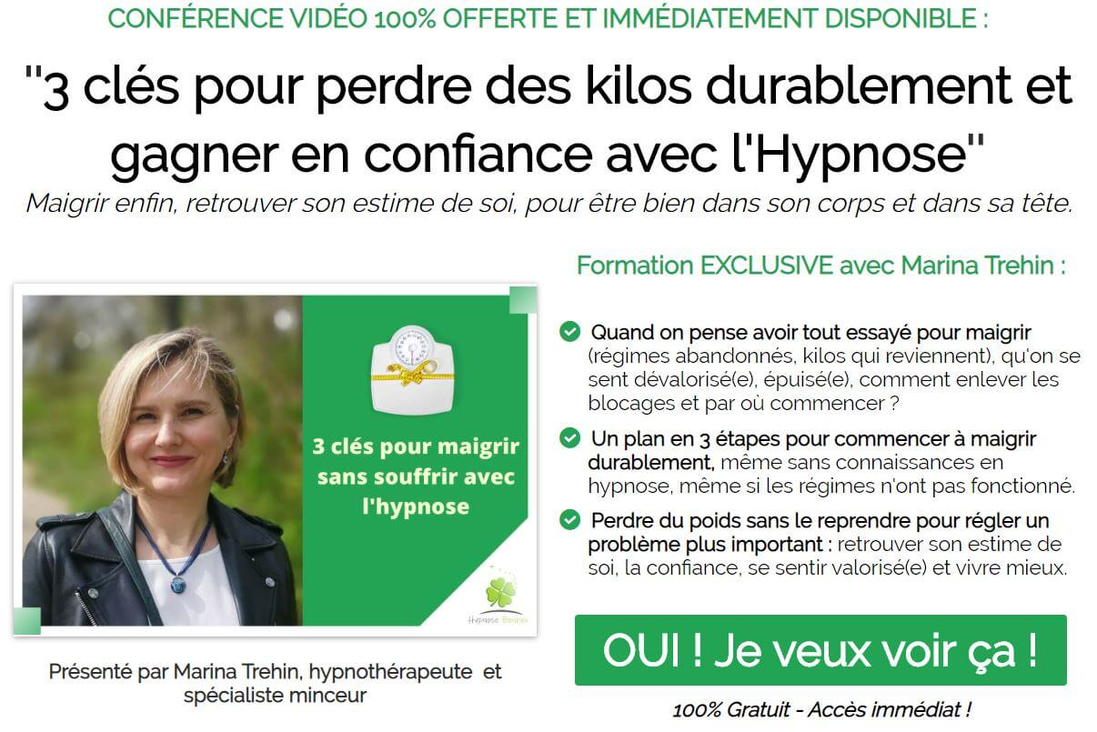 Conférence maigrir avec l'hypnose