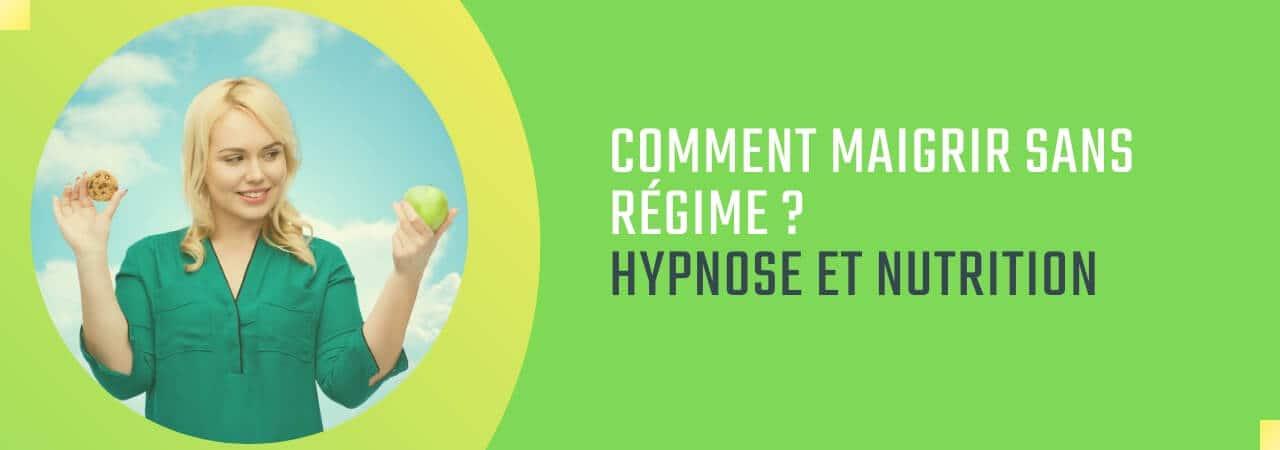 comment maigrir sans régime hypnose et nutrition