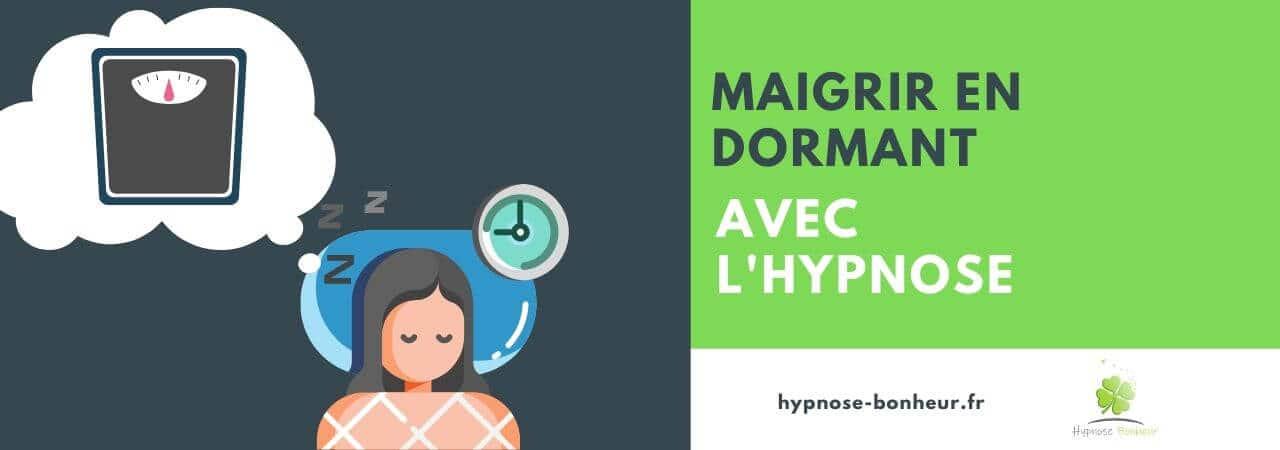 Maigrir en dormant avec l'hypnose