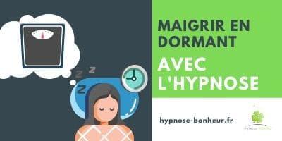 Hypnose pour maigrir en dormant