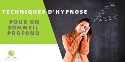 utiliser les techniques de l'hypnose pour retrouver le sommeil